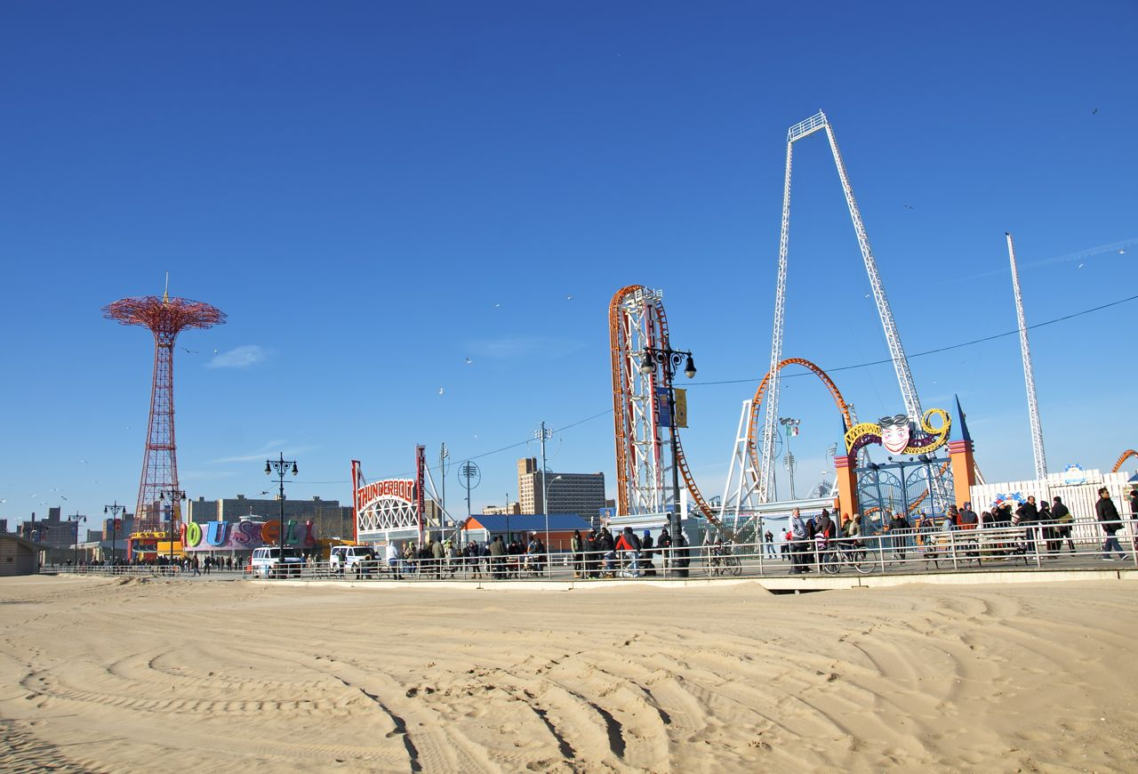 Who Founded Coney Island