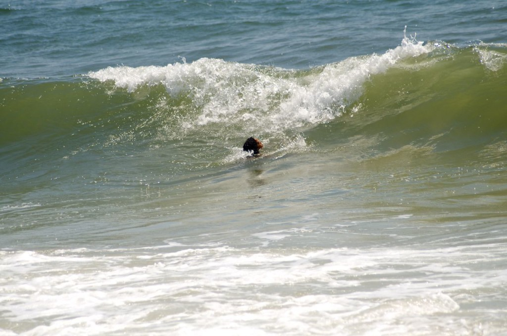 alone with the surf